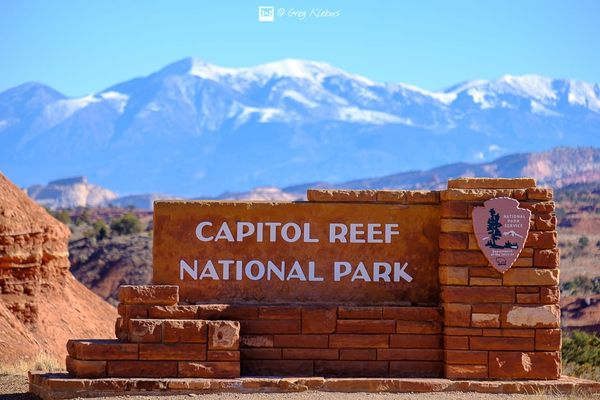 Utah's Mighty 5: Capitol Reef National Park in Winter